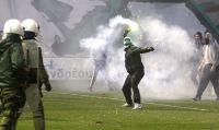 Gewalt auf dem grünen Rasen: Griechenlands Fußballbetrieb bis auf weiteres eingestellt