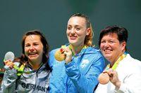 Olympisches Gold für griechische Pistolenschützin