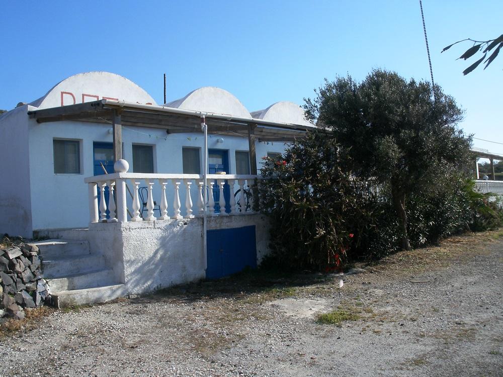 15 die Einzige Unterkunft auf Thirassia im Dorf Manolas
