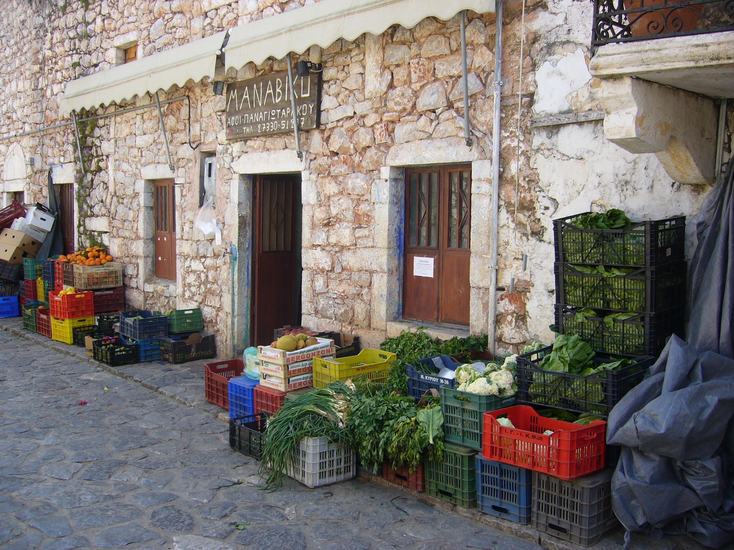 171207 Teil 2 Abb. 6 Gemüsehändler in der Inneren Mani