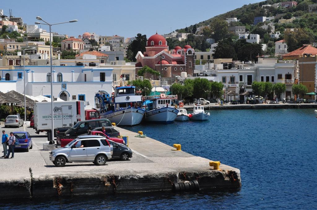 Ankunft in Agia Marina small