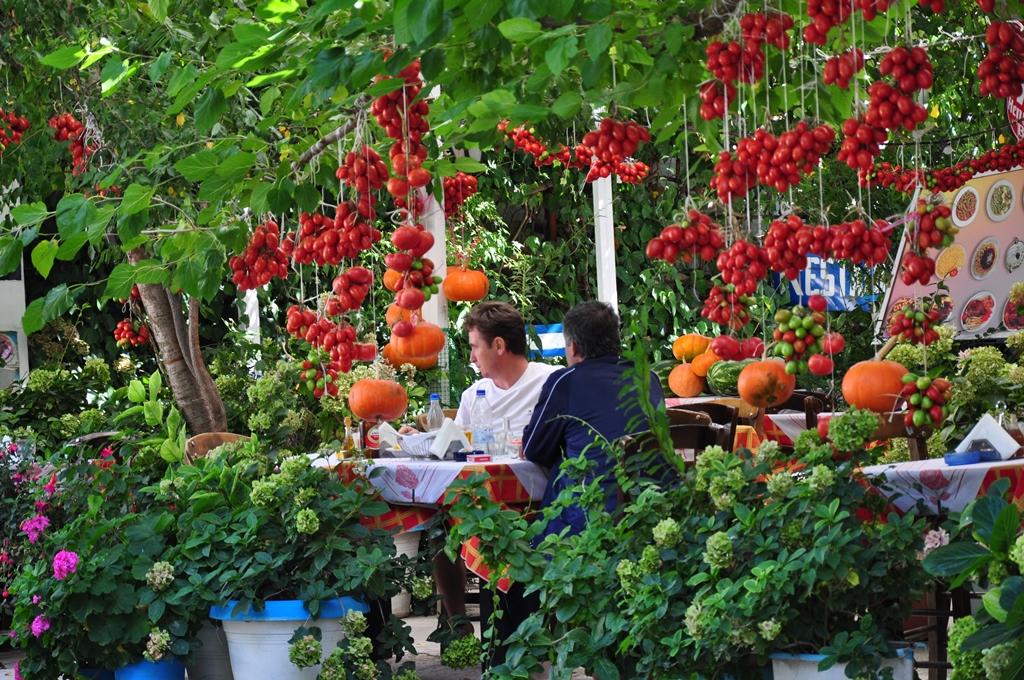 Die Taverne Mariana Onassis ein Paradies für Tomatenliebhaber