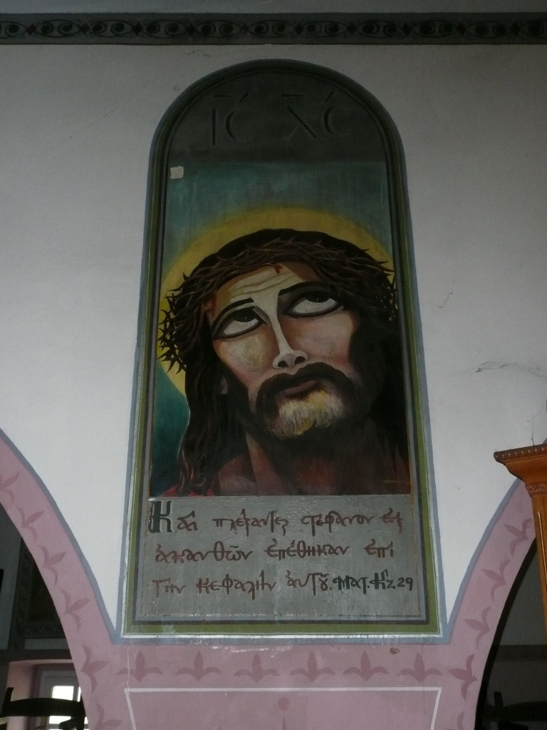 Ein ungewoehnlicher Christus gemalt von Junta Haeftlingen small