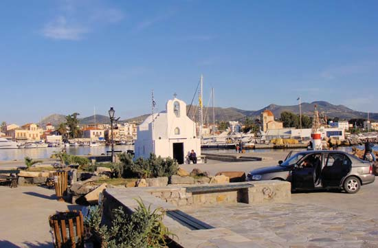 Hafenmole Ag. Nikolaos
