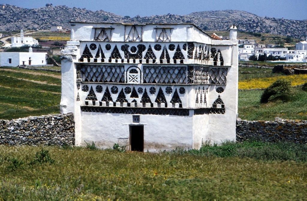 Luxuswohnungen haben auf Tinos die Tauben small