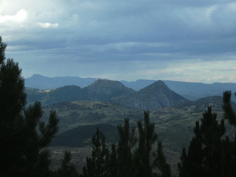 Samarinas Landschaft wirkt auf den Betrachter mystischSMALL