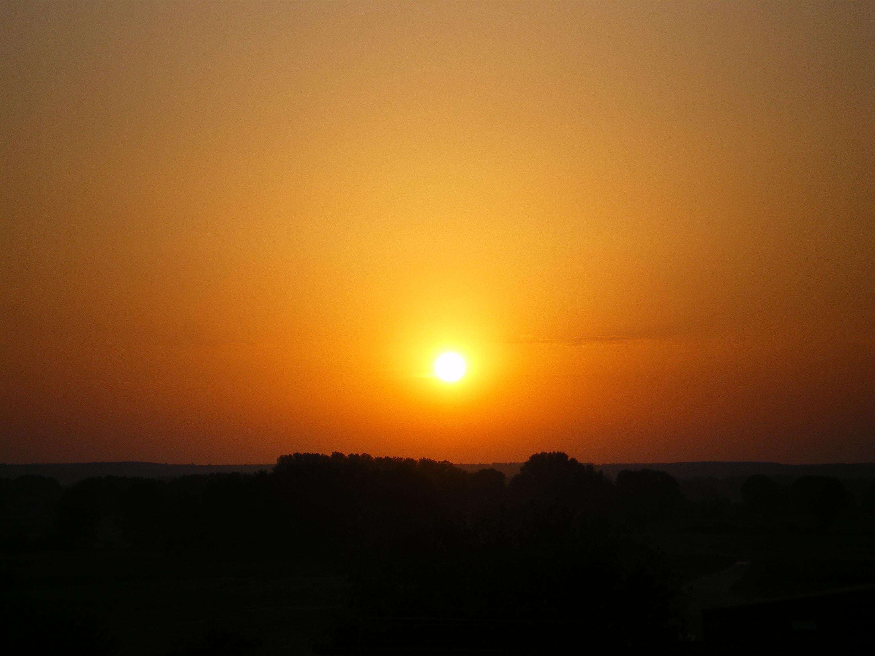 Sonnenaufgang am Evros