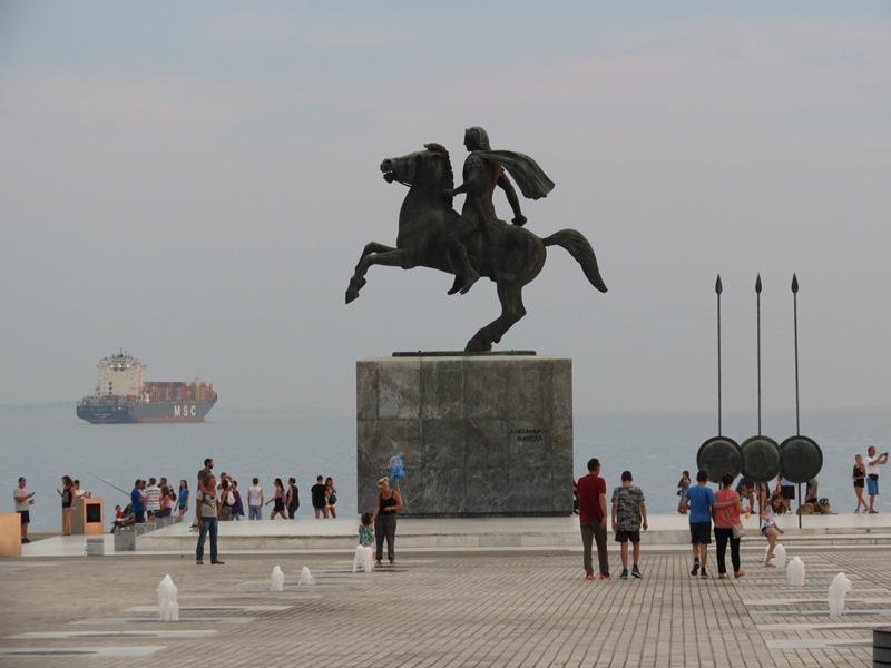 Alexander der Große in Thessaloniki SMALL