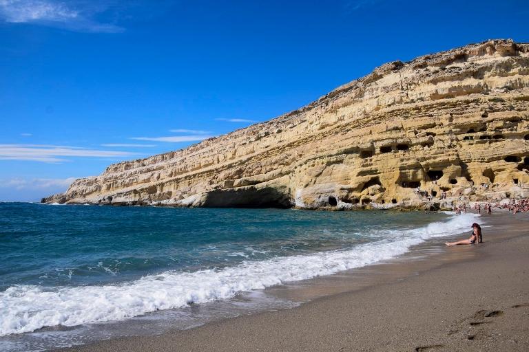 210113Kreta Ausflug Matala Strand Griechenland