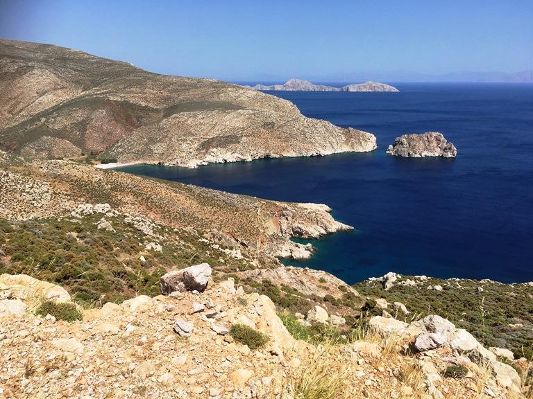 Ganz im Inselsüden Der Agios Sergios Beach