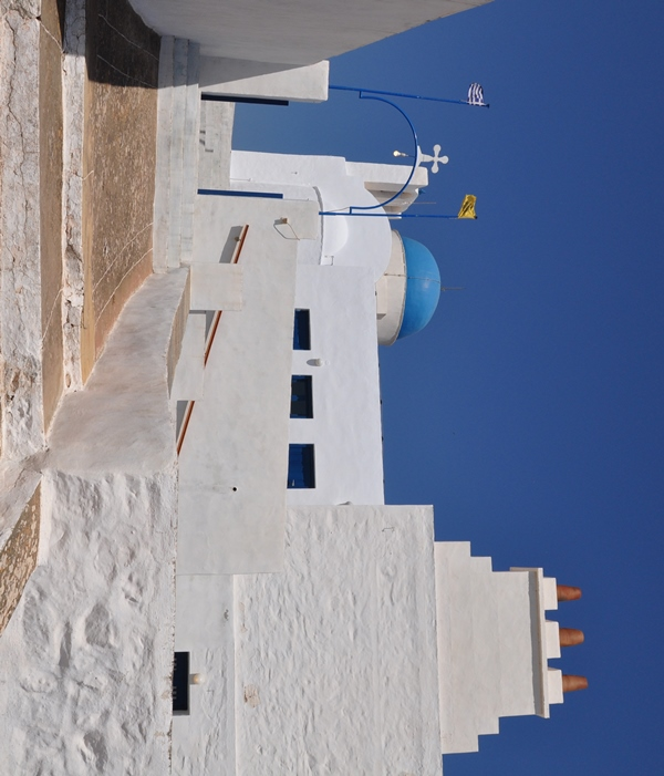 Ganz oben Kloster Agios Simeon