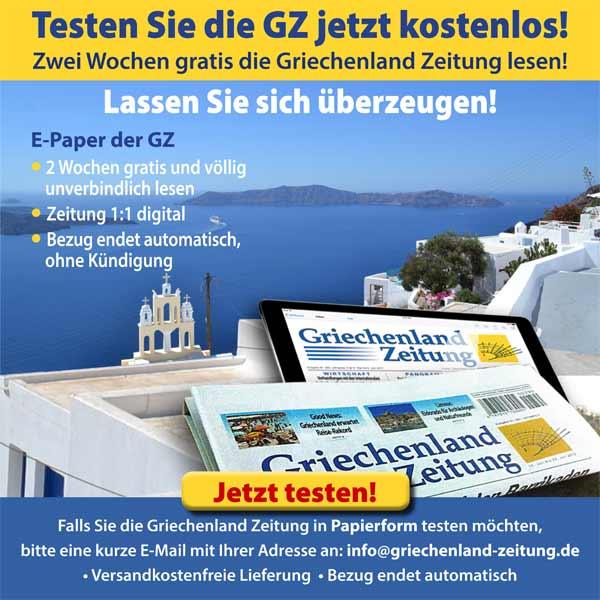 Griechenland Zeitung Abo