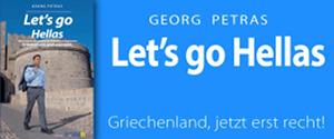 Banner: Let's go Hellas - Griechenland, jetzt erst recht!
