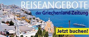Reiseangebote der Griechenland Zeitung