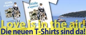 T-Shirt Weiss-Blau 2015