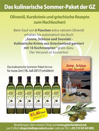Sommer Olivenoel Newsletter