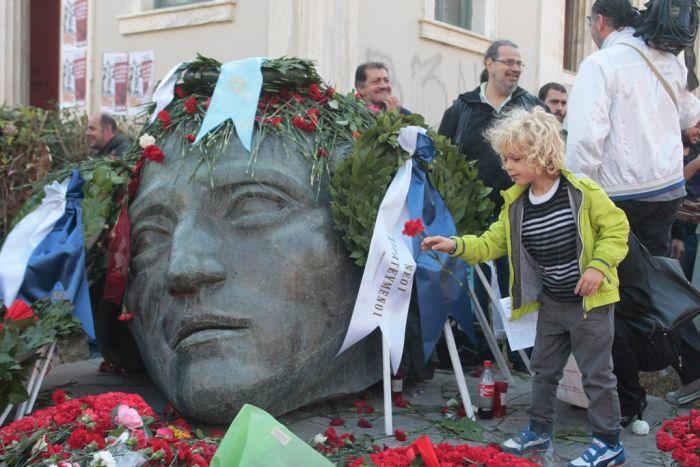 Gedenken an den Aufstand der Studenten gegen Militärjunta in Griechenland