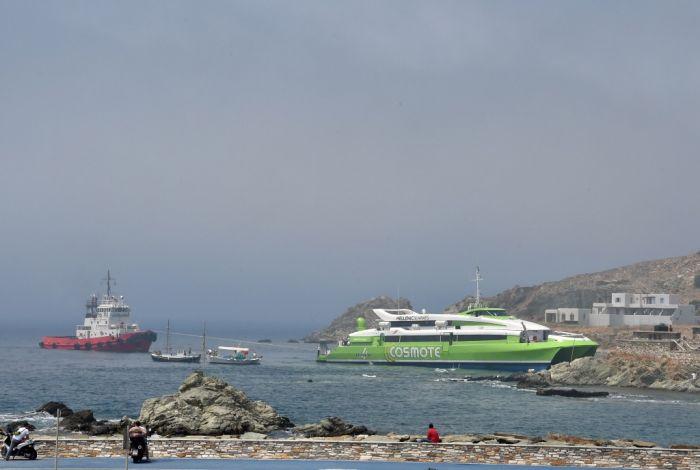 Schiffsunfälle in Griechenland durch dichten Nebel