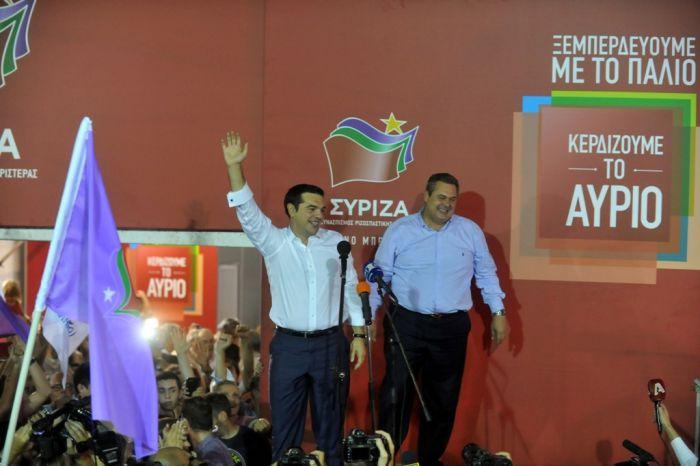Tsipras erhält zahlreiche Gratulationen zum Wahlsieg