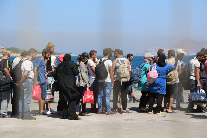 Kulturministerium gibt archäologische Schutzzone für Flüchtlinge frei