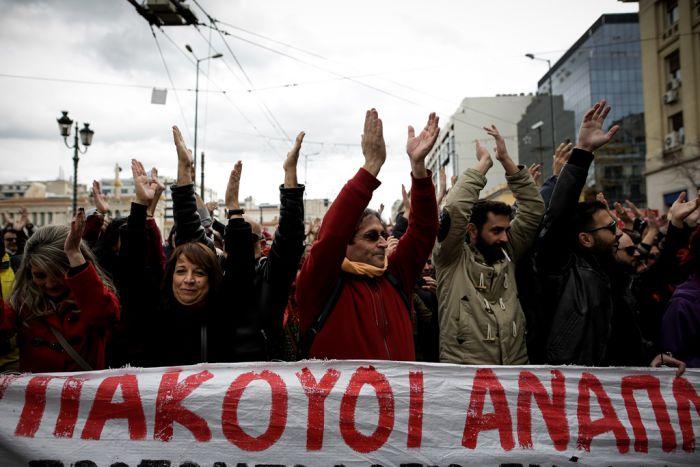 Griechenland News Streik