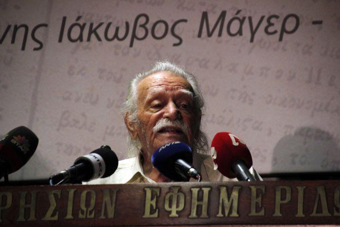 Linkspolitiker Glezos gegen Austritt aus der Eurozone