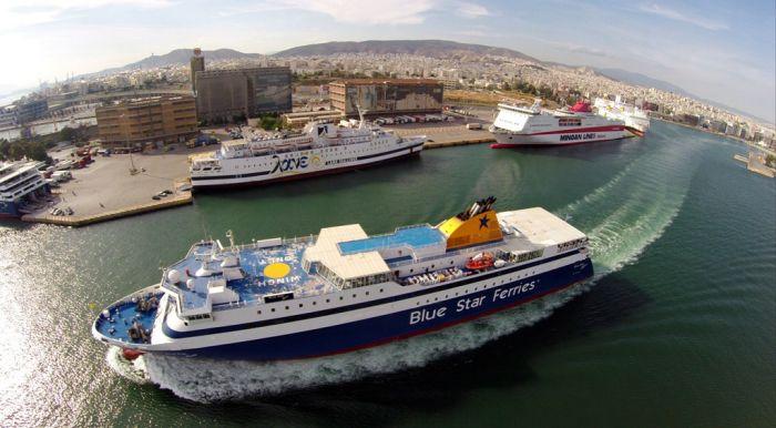 Griechenlands Fähren wieder in Betrieb