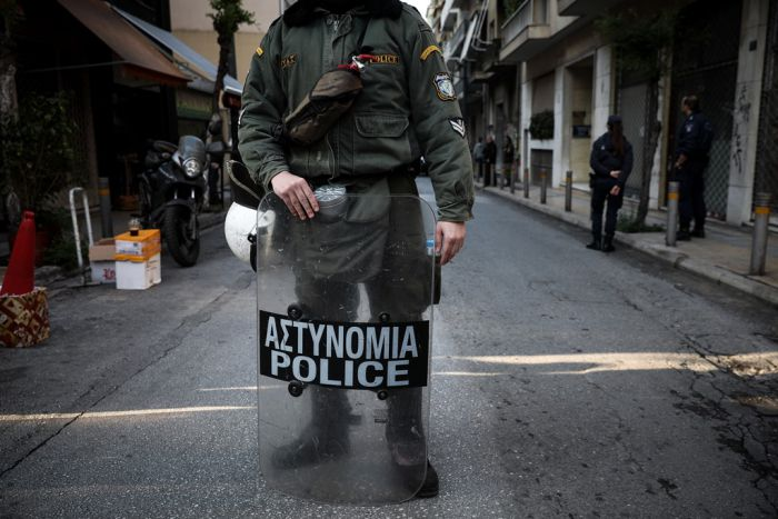 Unser Archivfoto (© Eurokinissi) entstand am Donnerstag (18.4.) in Exarchia.