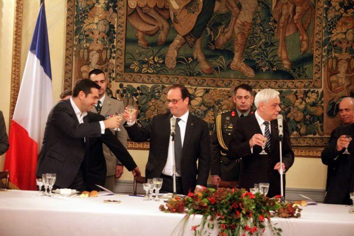 Hollande in Griechenland: Praller Terminkalender – lockere Atmosphäre