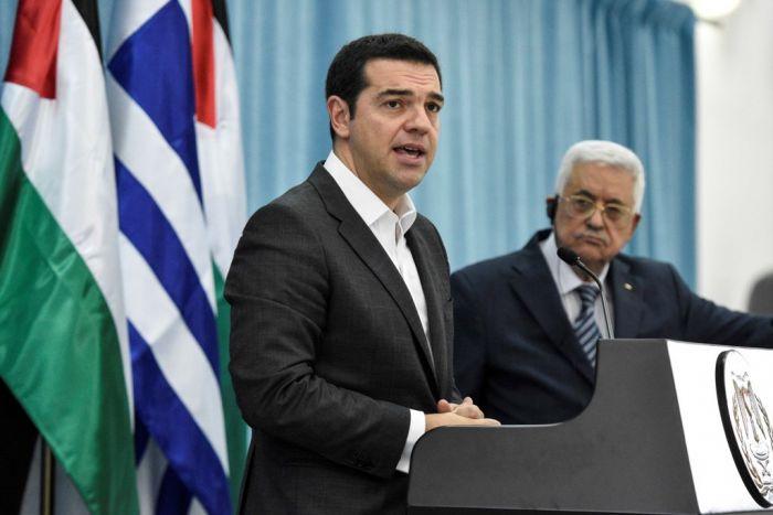 Griechenlands Premier vertieft Beziehungen zu Israel und Palästina