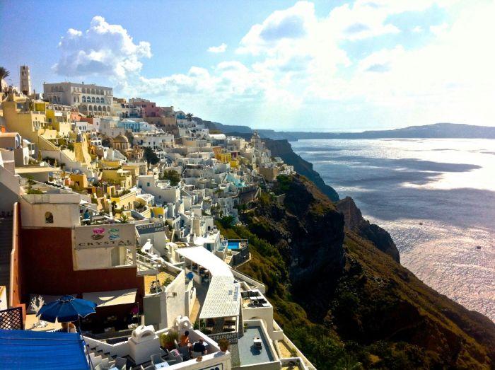 Das Wetter in Griechenland: Viel Sonne, vereinzelt Wolken