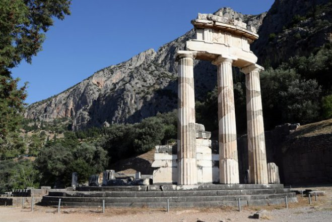 Unser Archivfoto (© Eurokinissi) entstand in Delphi.