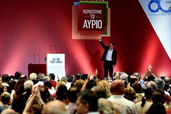 Linkspolitiker Tsipras präsentiert sein neues Wahlprogramm