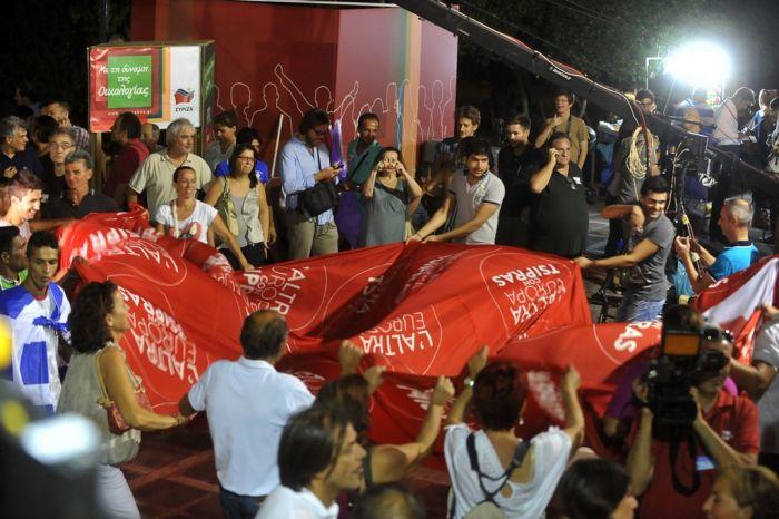 Klarer Sieg für Linkspartei SYRIZA bei den Parlamentswahlen