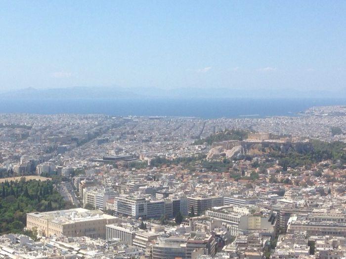 Strahlender Dienstag – die griechische Sonne lässt sich blicken