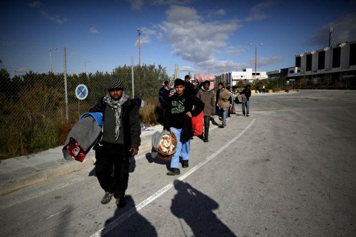 """Migranten in Griechenland bei Verlegung """"verlorengegangen"""""""