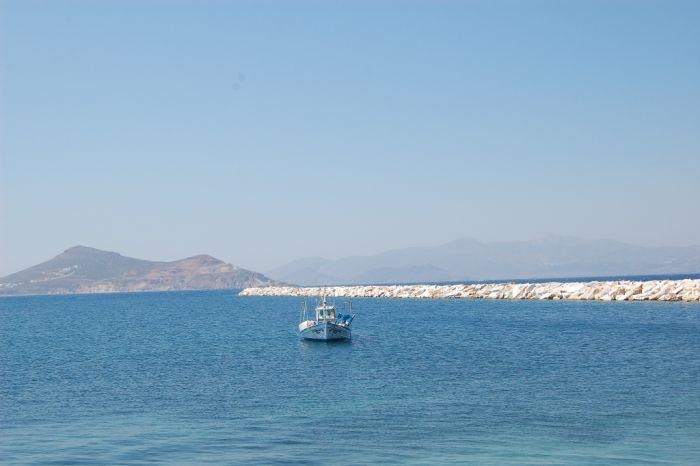 Wolkenfreier Himmel über Hellas