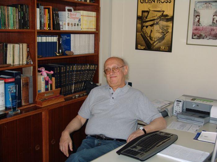 Interview mit dem Schriftsteller Petros Markaris