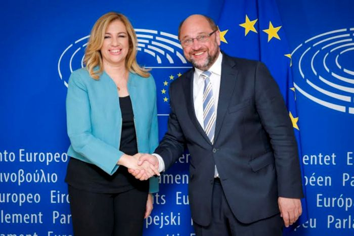 Scharfe Kritik am Koalitionspartner der griechischen Regierung