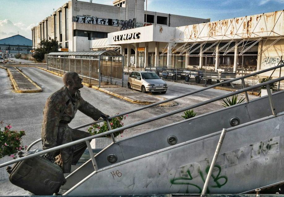 Verlassener Flughafen