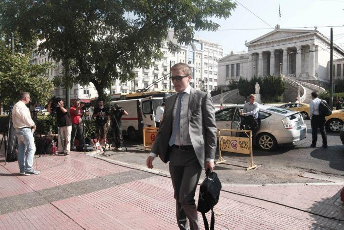 """Die Troika ist jetzt als """"Quartett"""" wieder in Griechenland"""