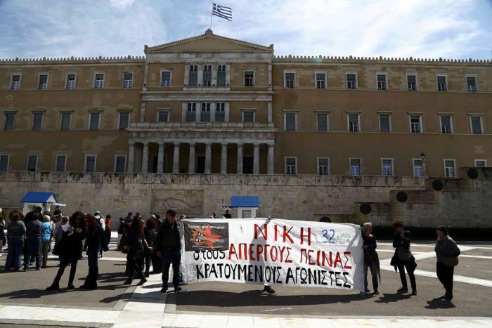Autonome in Griechenland kämpfen für inhaftierte Terroristen