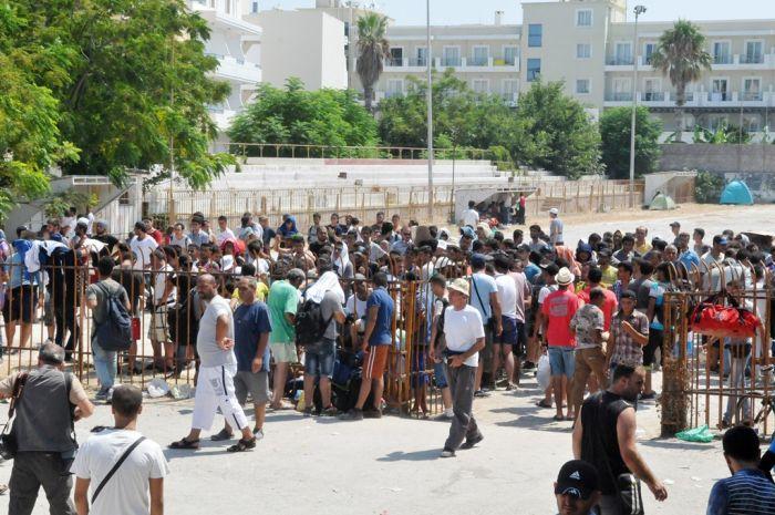 Griechenland ist mit einer massiven Flüchtlingswelle konfrontiert