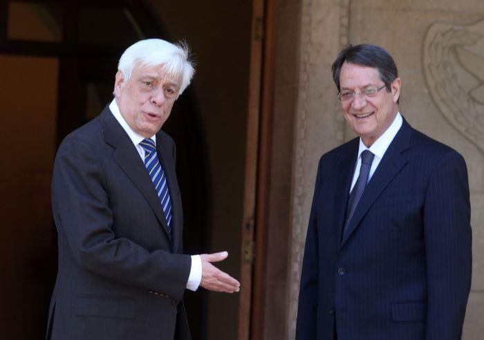 Griechenlands Staatspräsident spricht in Nikosia Lösung des Zypernproblems an