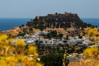 Lindos Stadt, Rhodos, Dodekanes Inseln ( © Lufthansa Group).