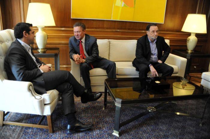 Russlands Gazprom-Chef sondiert in Griechenland