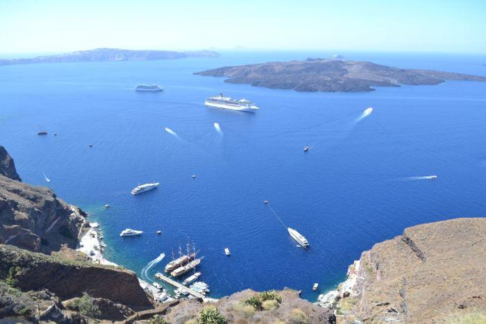 TV-Tipp: Auf Entdeckungsreise durch Europa: Die Schöne auf dem Pulverfass - Santorin