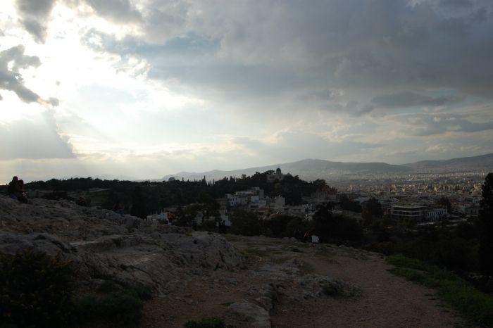 Das Wetter in Griechenland: Gewitterfront über Hellas