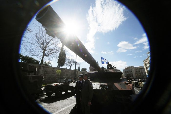 Weitere Vertreter der Rüstungsbranche in Griechenland festgenommen