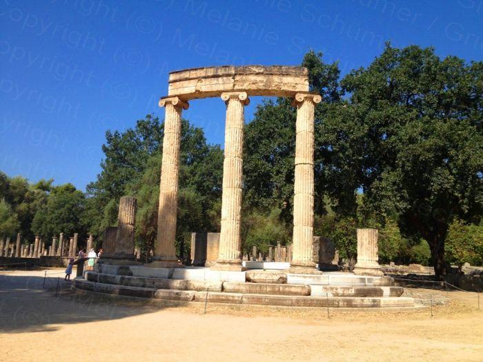 Frühlingshaft Werte in ganz Griechenland